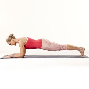 blonde plank